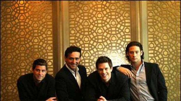 Discovered by Simon Cowell, Il Divo are preparing to once again tour Australia.