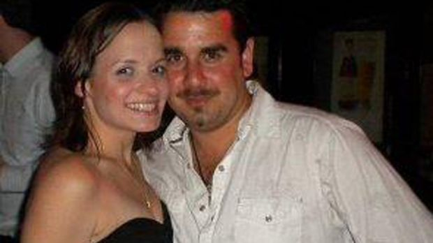 Gone, but where? ... Rebecca Michels and fiance Craig Stanley.