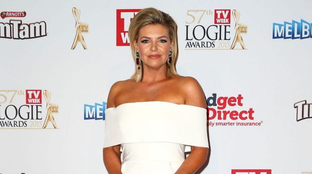 Footy Show co-host: Rebecca Maddern.