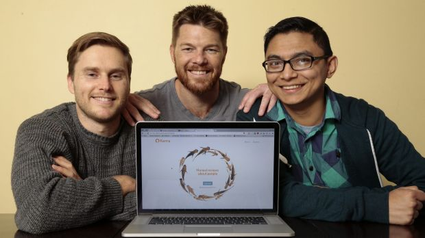 The co-founders of www.karma.wiki - Dayne Rathbone, Clyde Rathbone and Monish Parajuli.