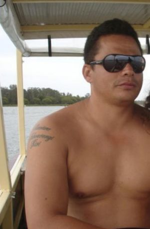 Executed ... Gemahl Maika was shot dead outside his home in April.