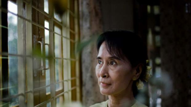 Reforms renew hope ... democracy leader Aung San Suu Kyi.