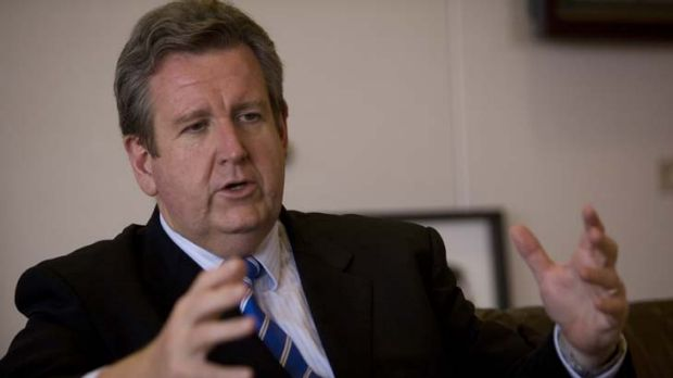 """Parts of Sydney remain """"very monocultural"""" ... NSW premier Barry O'Farrell."""