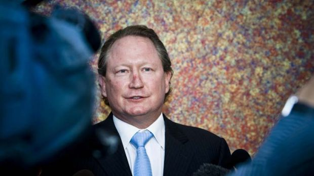 Andrew 'Twiggy' Forrest reckons the mining tax won't deliver more tax revenue.