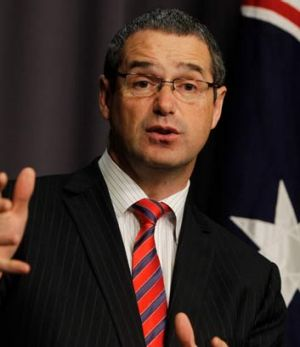 Communications Minister Stephen Conroy said the Australia Network tender had been cancelled because of  'significant ...