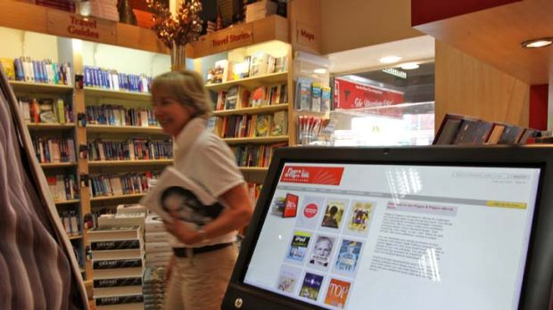E-books for all ... Pages & Pages booksellers in Mosman is launching an e-book kiosk at its store.