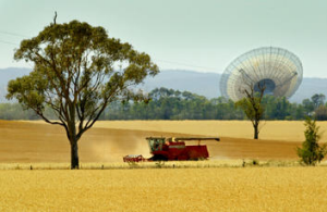 The Dish, north of Parkes.