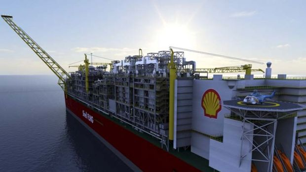 Extreme case ... the $12 billion Prelude LNG project.