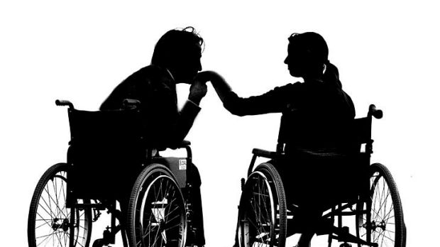 Tenderness ... sexual assistants help the disabled lead a normal life.