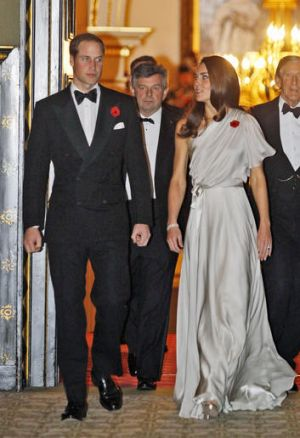 RAF rules mean Prince William will not be joined by his wife Catherine, Duchess of Cambridge (pictured at a recent ...