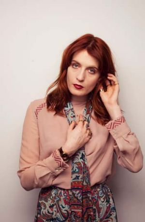 Florence Welch from Florence and the Machine.
