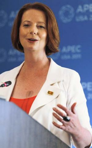 """I support maintaining the Marriage Act in its current form"" ... Julia Gillard."