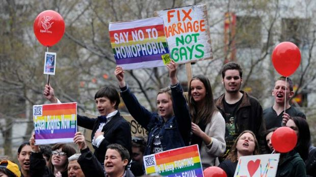 A new poll reveals 62 per cent of voters support gay marriage.