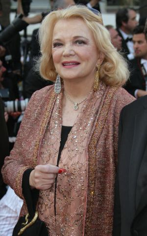 American actress Gena Rowlands.