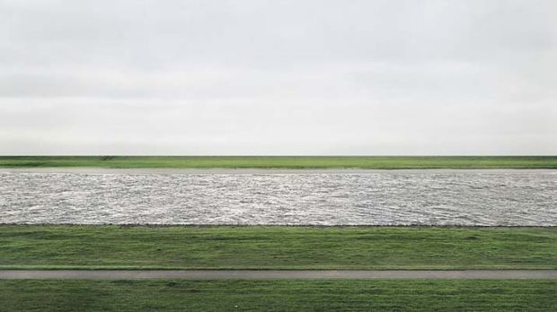 Fetched $US4.3 million ... Andreas Gursky digitally doctored his image of the Rhine.