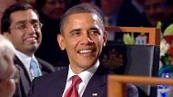 Obama attends state dinner in Canberra (Video Thumbnail)