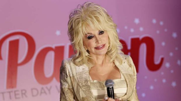 Robotic ... Dolly talks to the media at a press conference.