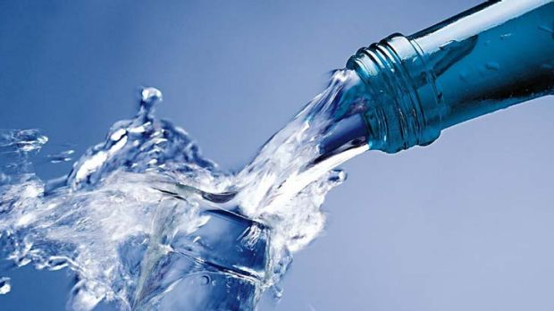 Bottled water ... producers are forbidden from stating that water can prevent dehydration.