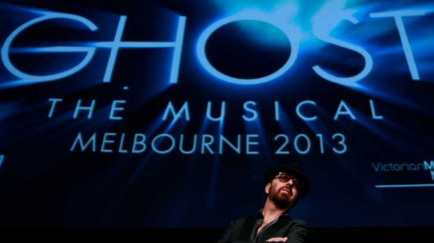 Dave Stewart, of Eurhythmics fame, at the launch of the musical <i>Ghost</i>.
