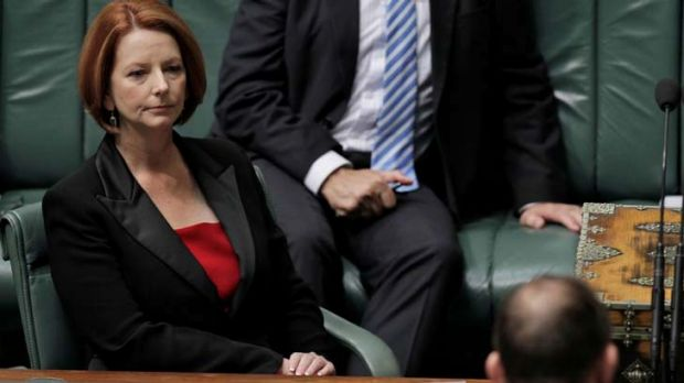 Gillard and Abbott ... will get a break from one another at the end of the parliamentary year.