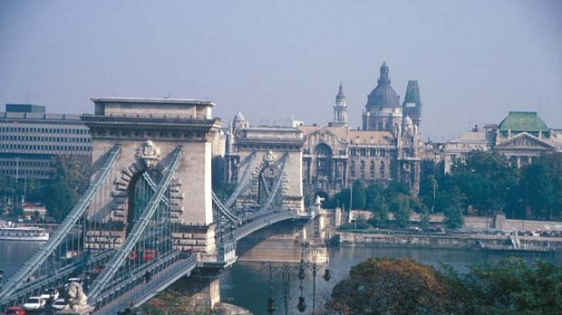 Danube blues: 'Hungary is a warning sign,' said Neil Shearing of Capital Economics. 'It is the country where the risks ...