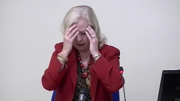Mary-Ellen Field gives evidence at the Leveson Inquiry