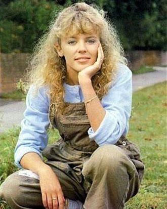 Kylie Minogue as she appeared in Neighbours.
