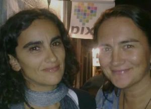 Filipa Santos (left) and Angela Borella were forced to cancel wedding plans.