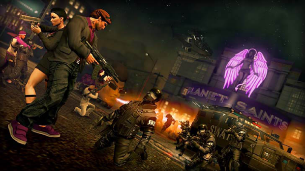 A screengrab from Saints Row: The Third.
