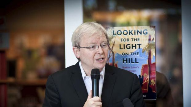 """The public has had a gutful of what currently passes for much of our national political debate"" ... Kevin Rudd."