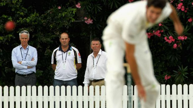 Selectors watch emerging paceman Ben Cutting.