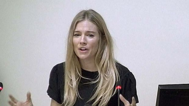 Actress Sienna Miller said she was terrified to be chased by up to 15 photographers, a practice McMullan described as ...