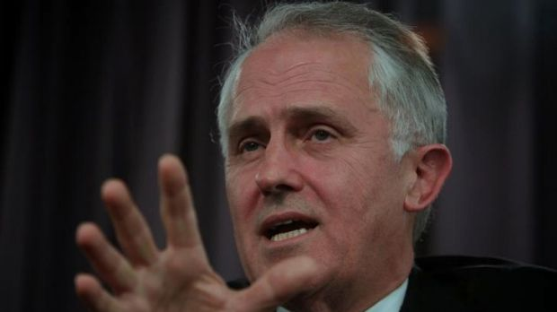 """Malcolm Turnbull....in the """"crazy business"""" of politics"""