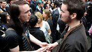 The Sunday AgeNews13/08/2011picture Justin McManus.Gay Marriage Rally. Rally for equal rights for gay couple to ...