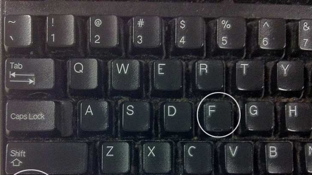 Out of control ... 90 per cent don't know what Ctrl F does, according to Google study.