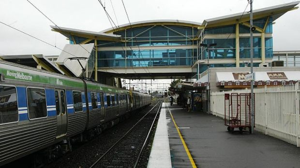 Daniel Robinson was left unconscious at Dandenong railway station.