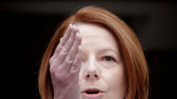 """Wordsmith ... Julia Gillard will frequently use the word """"yes"""" to contrast the opposition's reputation for being negative."""