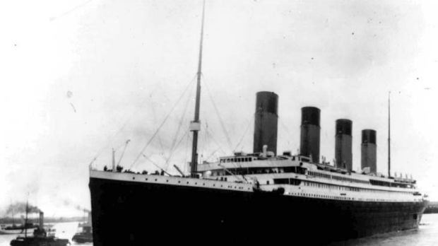 The SS Titanic: 'Unsinkable'.