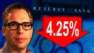 RBA cuts interest rate to 4.25% (Video Thumbnail)