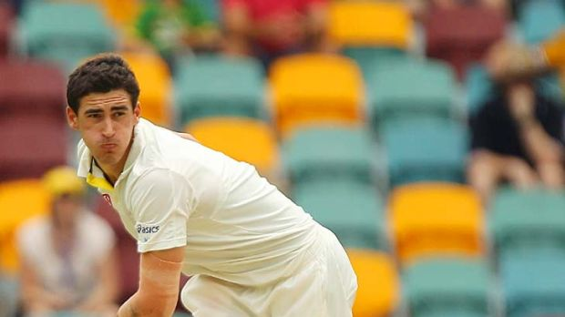 Mitchell Starc: being a left-armer has obvious advantages this summer.