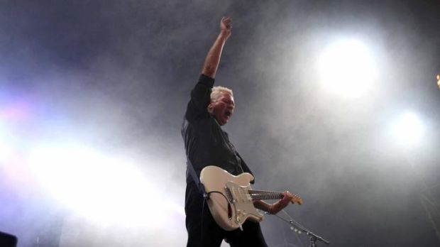Iva Davies and Icehouse perform at last weekend's Homebake Festival in Sydney. They play Meredith Saturday, December 10.