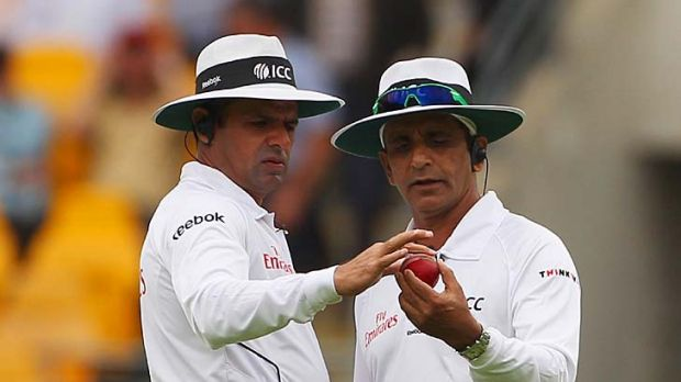 Umpires Aleem Dar and Asad Rauf called off play due to bad light on the first two days of the first Test.