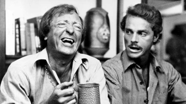 Harold Hopkins, right, had major roles in several Australian television series and movies, including <em>Don's ...