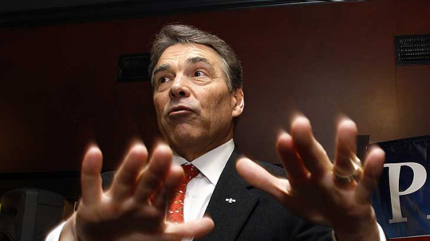 Handing online satirists a gift ... Rick Perry.