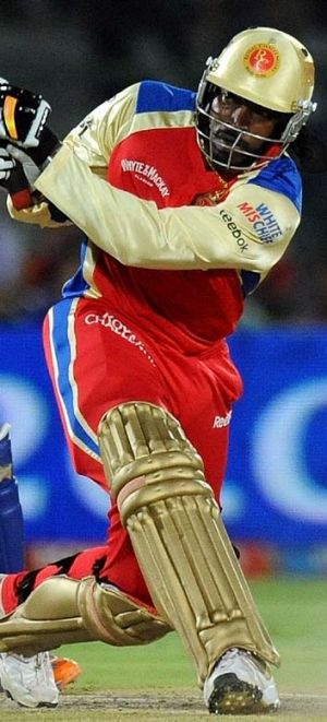 T20 mercenary … Chris Gayle lines his pockets in the IPL.