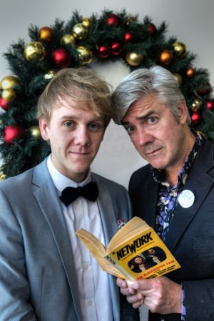 Josh Thomas, left, and Shaun Micallef are set to return to the ABC in <i>Please Like Me</i>.