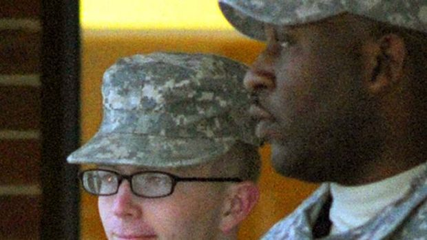 US Army private Bradley Manning: Accused of giving more than 700,000 secret US documents and classified combat video to ...