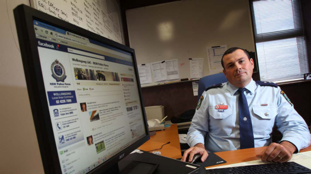 Wollongong Detective Inspector Tim Beattie says eyewatch is putting crime fighting at people's fingertips.