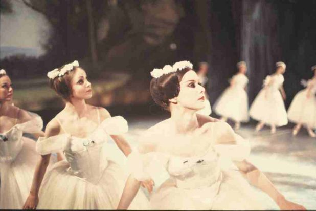 """Josephine Jason and Marilyn Rowe in """"Les Sylphides""""."""