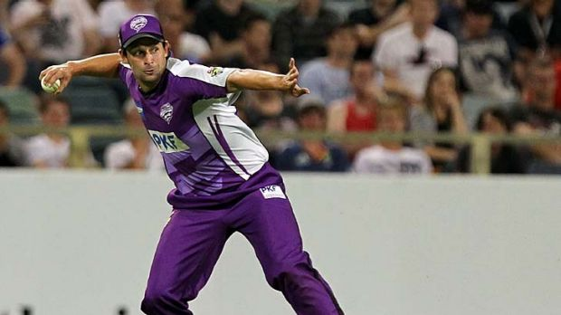 Ben Hilfenhaus... back in favour with the selectors.